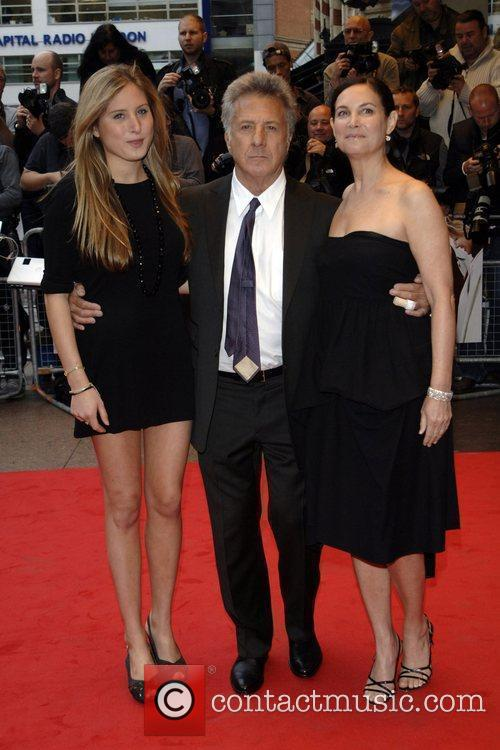 Dustin Hoffman with his Wife & Daughter...