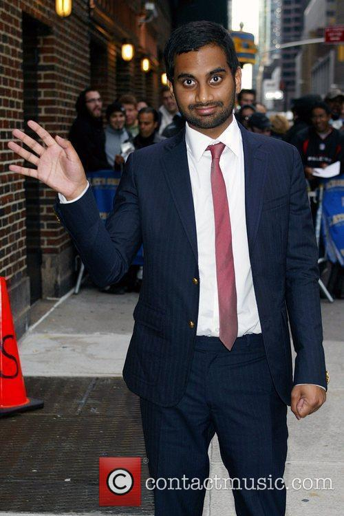 Aziz Ansari and David Letterman 2