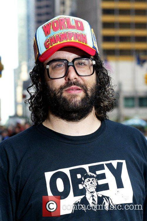 Judah Friedlander and David Letterman 1