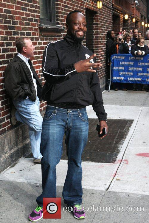 Wyclef Jean and David Letterman 3