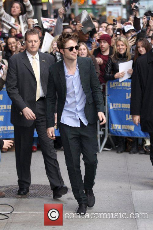 Robert Pattinson and David Letterman 6