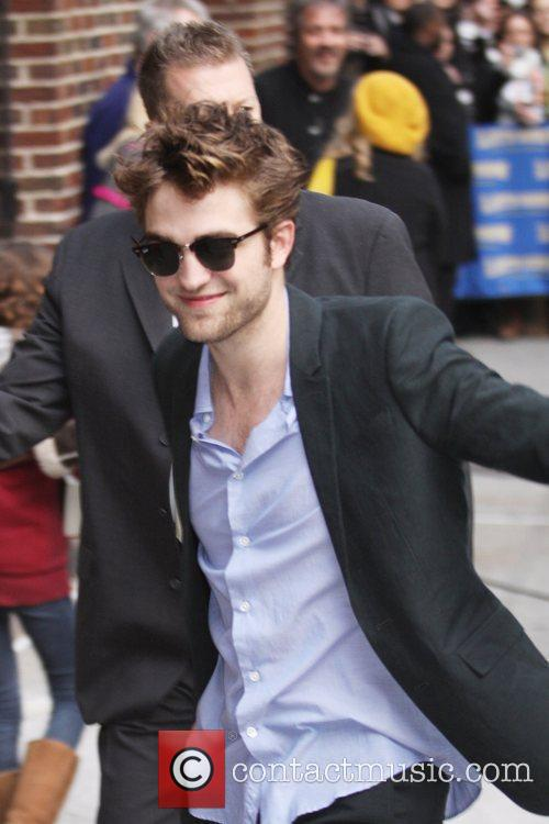 Robert Pattinson and David Letterman 4