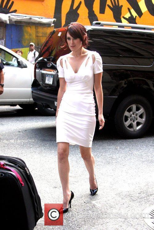 Rumer Willis and David Letterman 6