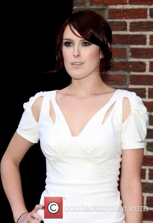 Rumer Willis and David Letterman 8