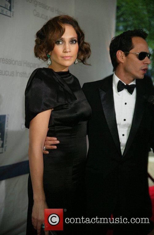 Marc Anthony and Jennifer Lopez The Congressional Hispanic...