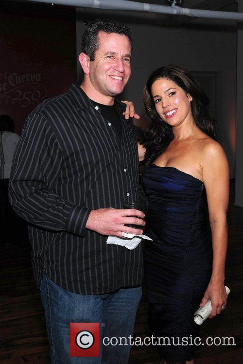 Jay Fiedler and Ana Ortiz launch of Cuervo...