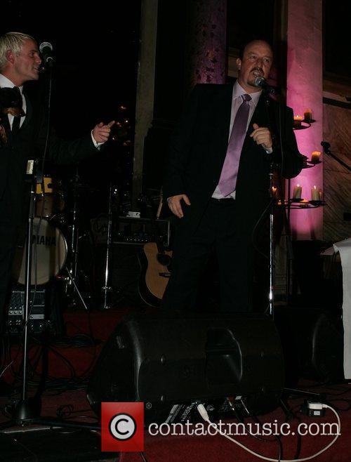 Julian Bennett & Rafael Benitez at the launch...
