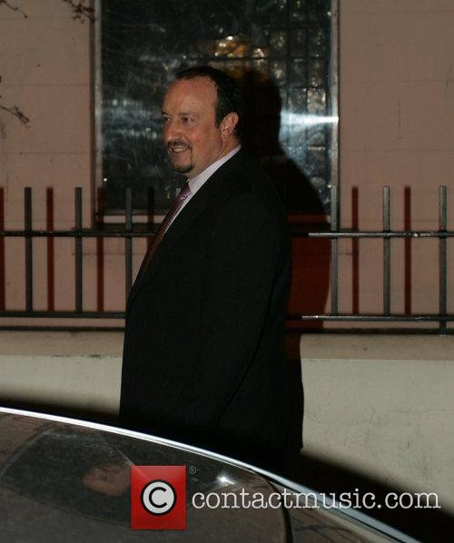 Rafael Benitez at the launch party for the...