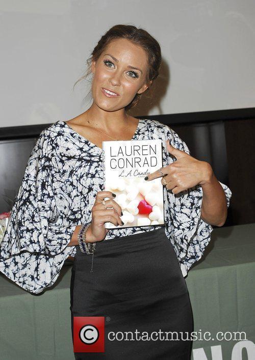 Lauren Conrad signing copies of her new book...