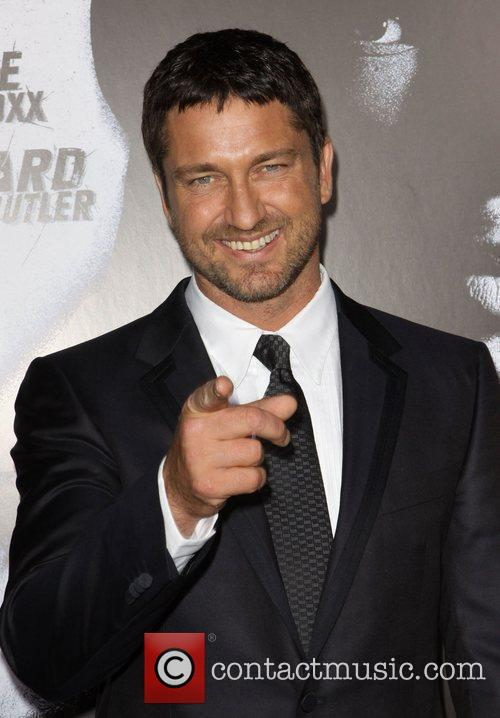 Gerard Butler Premiere screening of 'Law Abiding Citizen'...