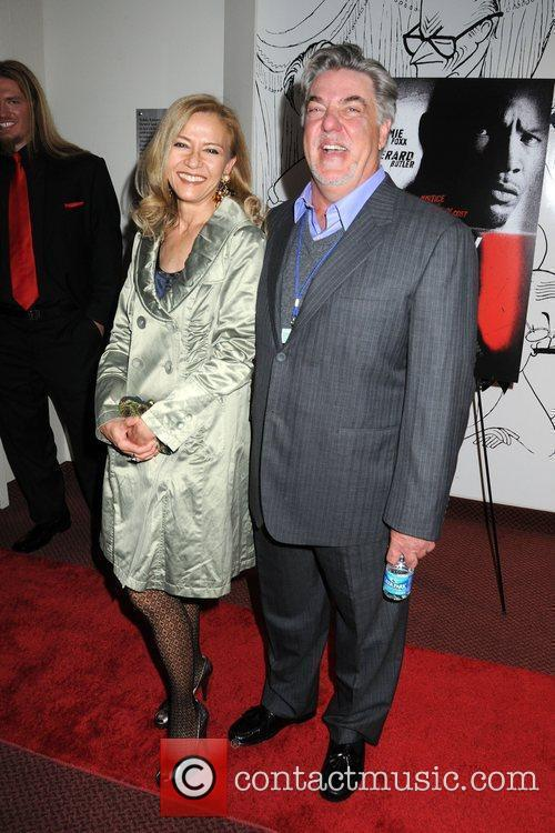 Cris Edwars and Bruce McGill Screening of 'Law...