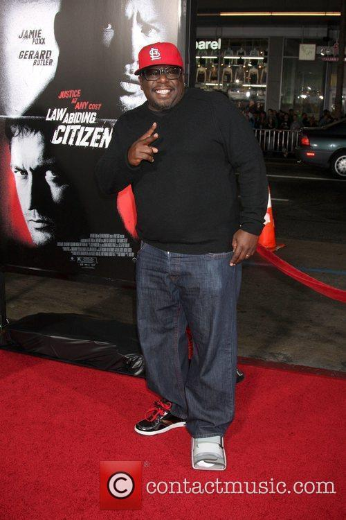 Cedric The Entertainer Premiere screening of 'Law Abiding...