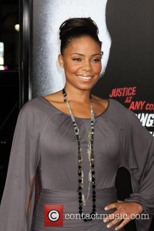 Sanaa Lathan Premiere screening of 'Law Abiding Citizen'...