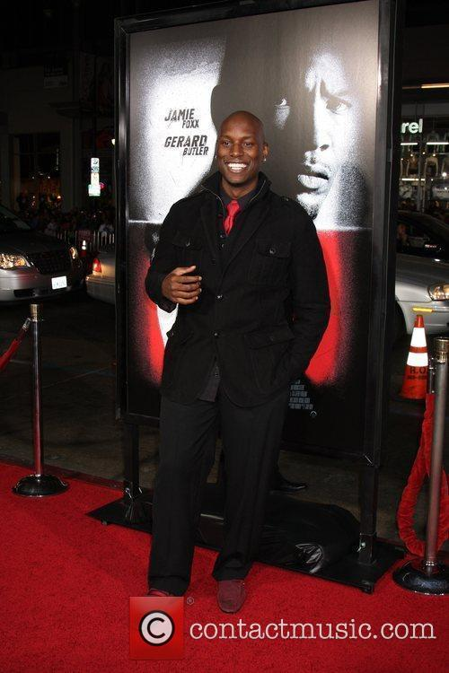Tyrese Gibson Premiere screening of 'Law Abiding Citizen'...