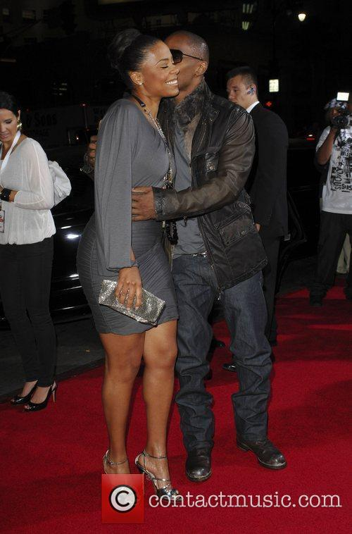 Sanaa Lathan and Jamie Foxx Premiere screening of...