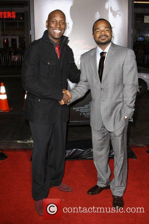 Tyrese Gibson and F. Gary Gray Premiere screening...