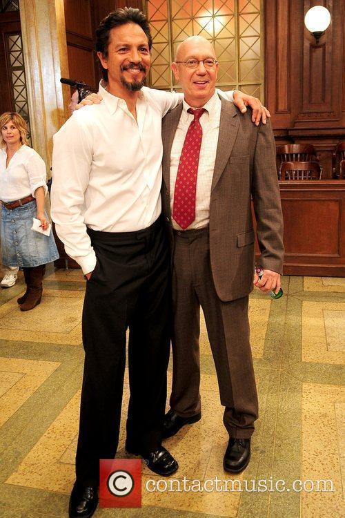 Benjamin Bratt and Dann Florek 3