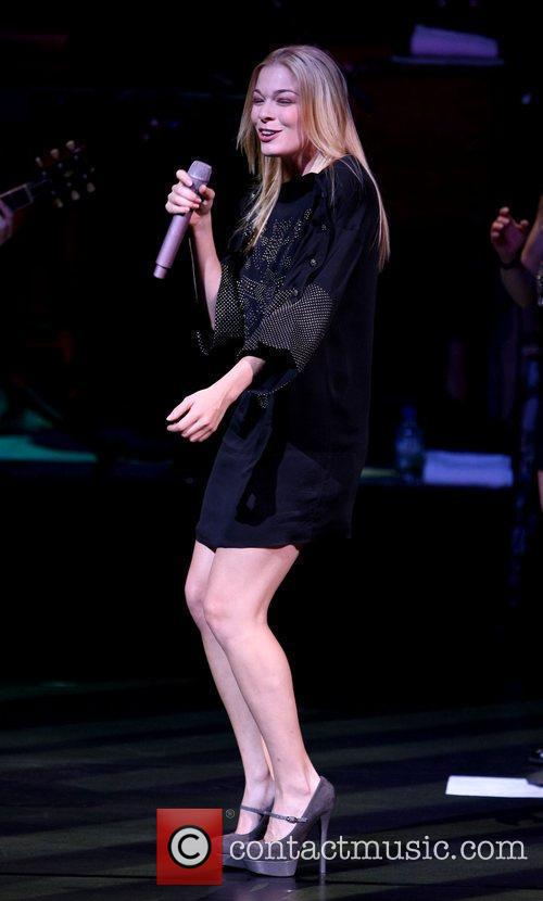 LeAnn Rimes performes at the TI theater inside...