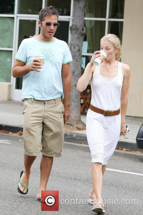 Leann Rimes and A Friend Pick Up Coffee In Santa Monica 1