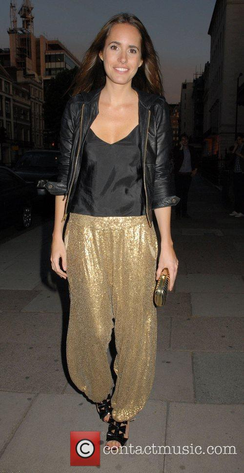 Louise Roe Outside the 'Leap Anywhere' launch party...
