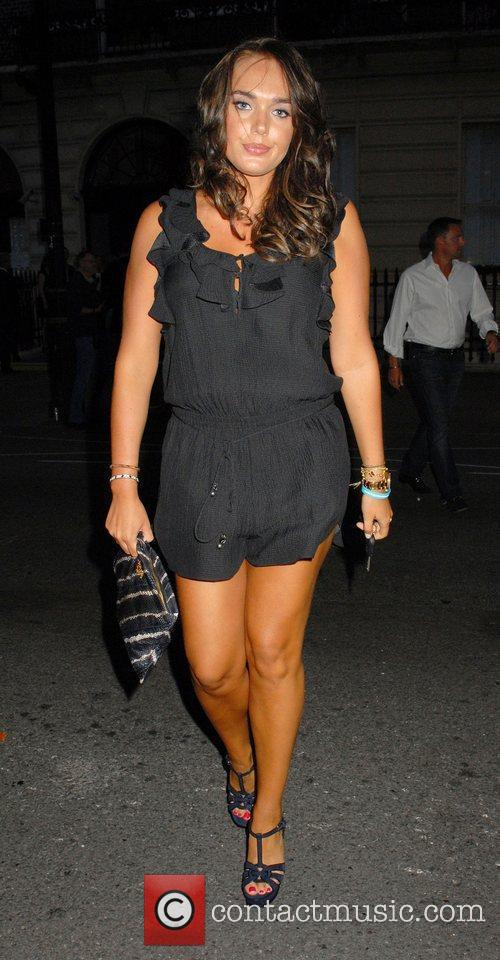 Tamara Ecclestone Outside the 'Leap Anywhere' launch party...