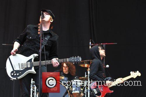 Patrick Stump, Fall Out Boy and Pete Wentz 1