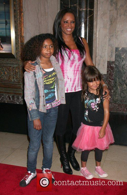 Melanie Brown with her daughter Phoenix Chi and...