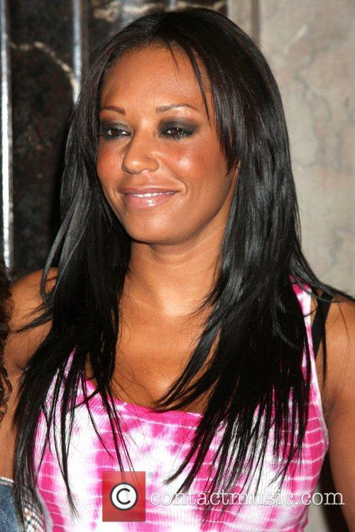 Melanie Brown The opening night of 'Legally Blonde'...