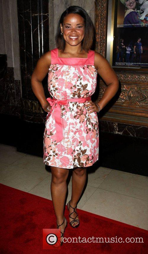 Kimberley Locke The opening night of 'Legally Blonde'...
