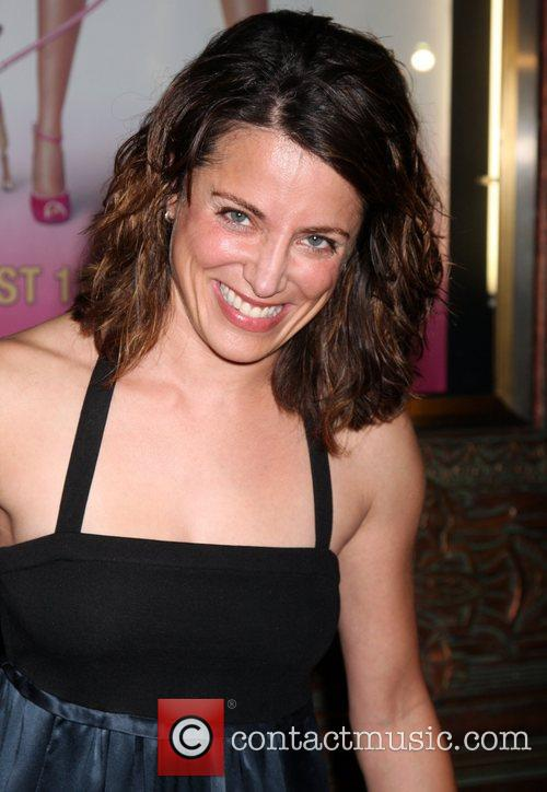 Alana Ubach The opening night of 'Legally Blonde'...