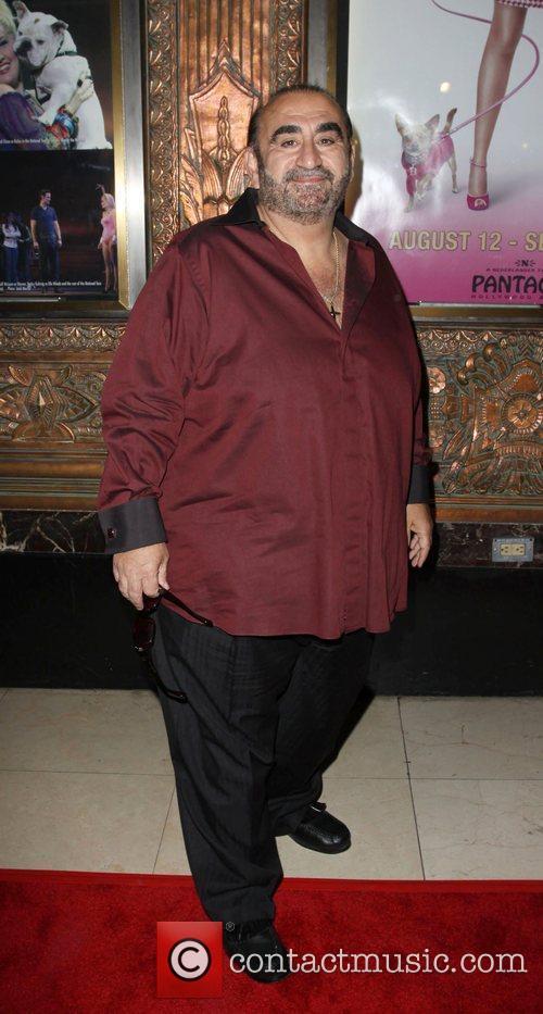 Ken Davitian The opening night of 'Legally Blonde'...