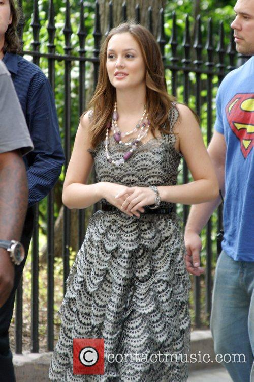 On the set of 'Gossip Girl' filming on...
