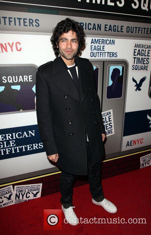 Adrian Grenier  American Eagle Outfitters flagship store...