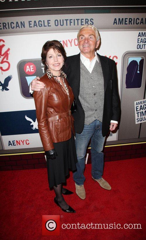 Guests American Eagle Outfitters flagship store preview party...
