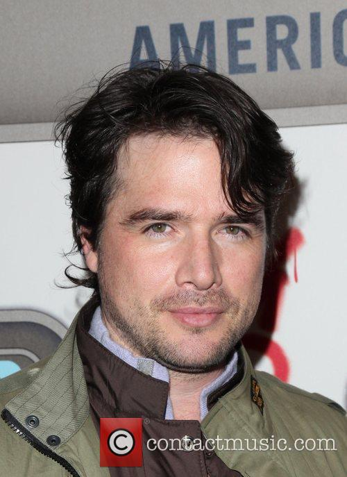 Matthew Settle  American Eagle Outfitters flagship store...