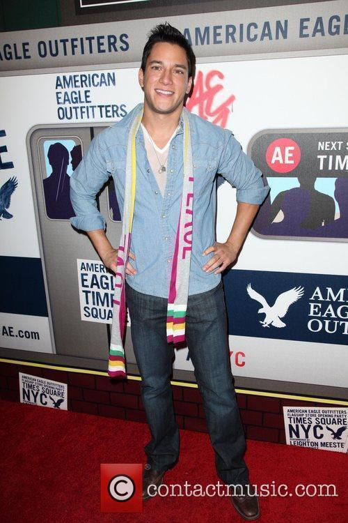 Nicholas Rodriguez  American Eagle Outfitters flagship store...