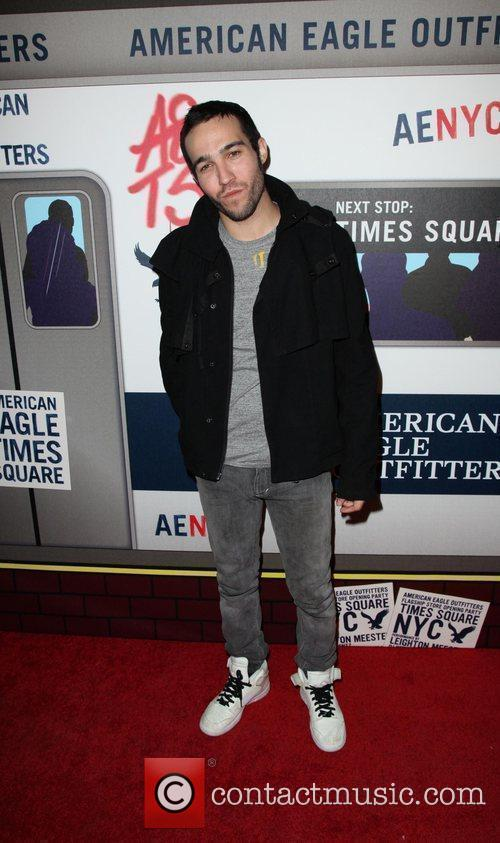 Pete Wentz  American Eagle Outfitters flagship store...