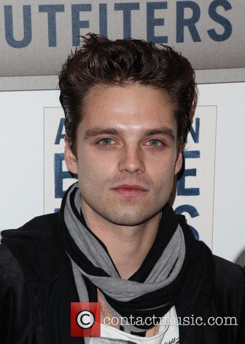 Sebastian Stan  American Eagle Outfitters flagship store...