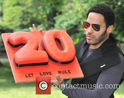 Lenny Kravitz Photocall in advance of his 'Let...