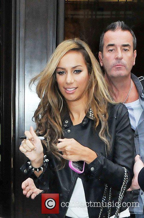 Leona Lewis leaving BBC1 radio2 London, England