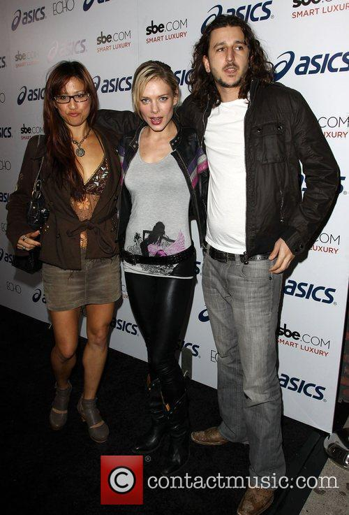 Guests ASICS and Leona Lewis celebrate her new...