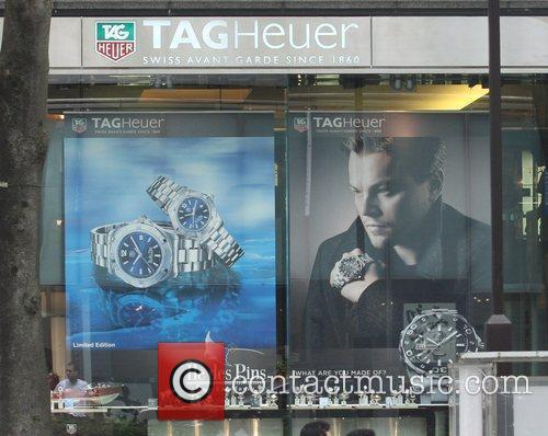 Appears in an ad for Tag Heuer
