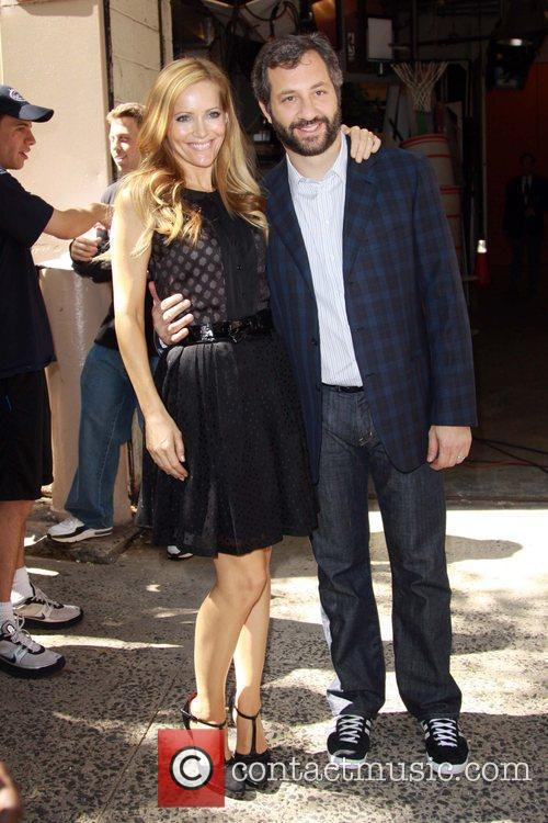 Leslie Mann and Judd Apatow 5