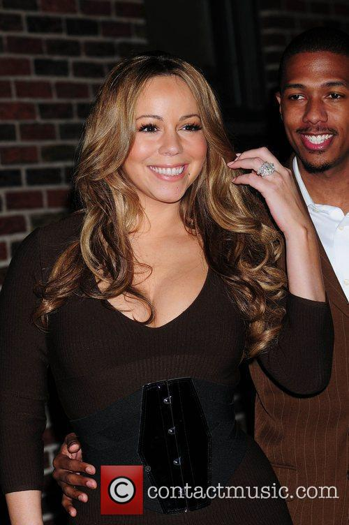 Mariah Carey and David Letterman 1