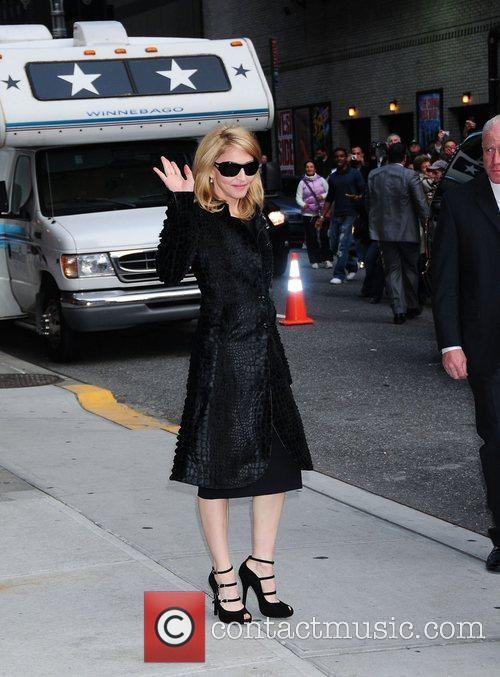Madonna and David Letterman 6