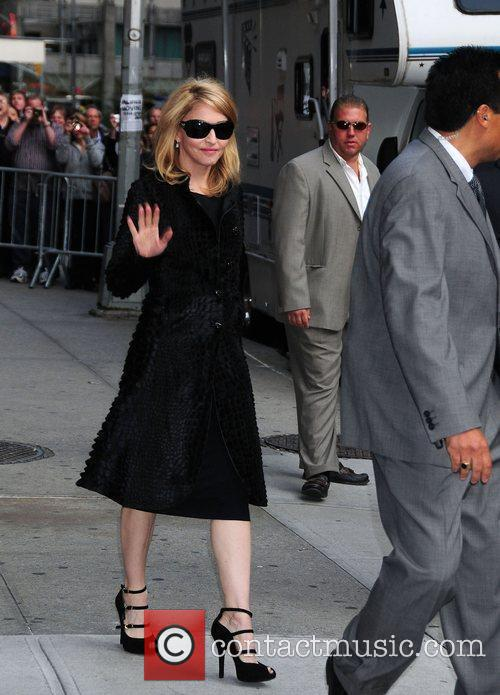 Madonna and David Letterman 9