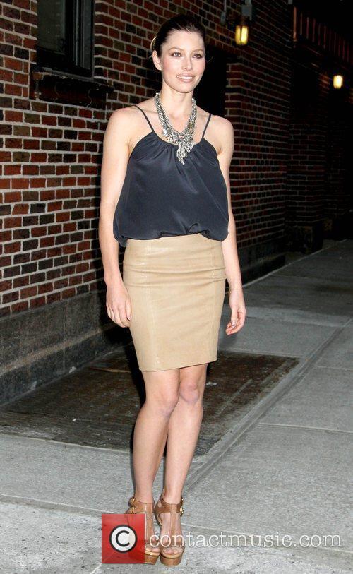 Jessica Biel and David Letterman 15