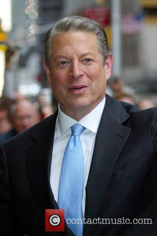 Al Gore and David Letterman 5
