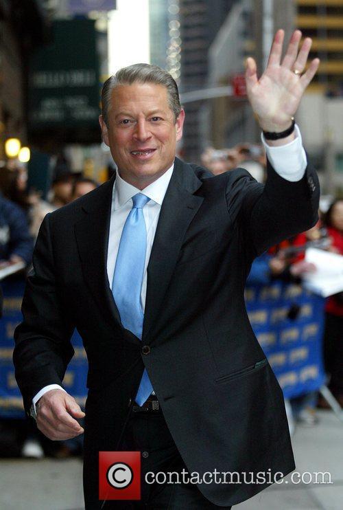 Al Gore and David Letterman 4
