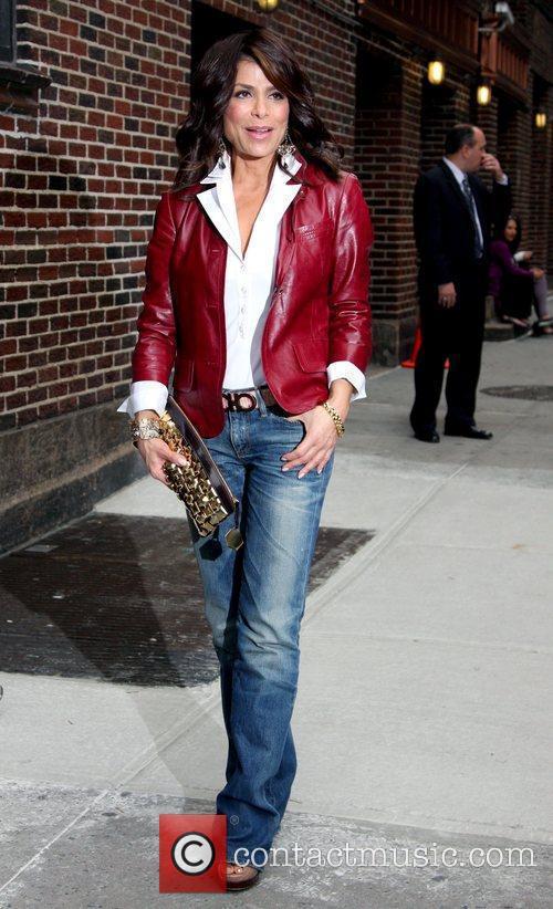 Paula Abdul and David Letterman 26
